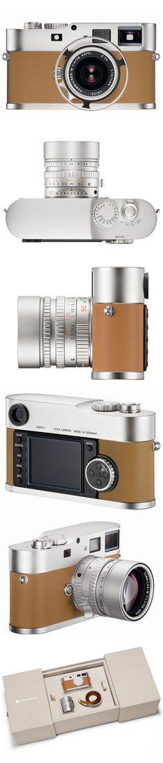 ♂ Hermès M9, Special Edition Camera, by Leica, via Freshness from http://www.freshnessmag.com/2012/05/11/leica-m9-p-edition-hermes-premium-special-edition-digital-camera/