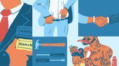 Mashable - editorial content illustration
