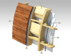 Our Garden Pods have a complex wall construction including a highly efficient layer of ecologically sound 100mm flexible mineral wool. For excellent year-round thermal and acoustic performance.