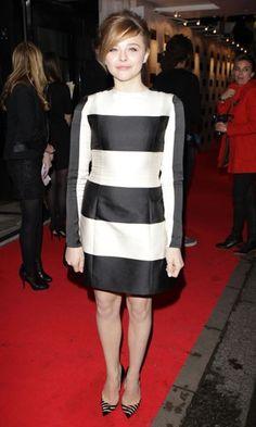 Chloe Moretz wearing Stella McCartney in London