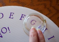 Craft Your Own Ouija Style Spirit Board Using a Round Cake Flat: Spirit Board Craft Project