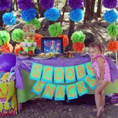 Keelin's Scooby-rific Birthday Party | CatchMyParty.com