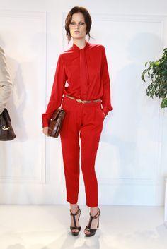 Rachel Zoe Spring 2012-Red Jumpsuit? Yes please!