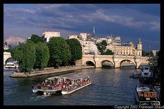 Ile de la Cite, Paris: It's summer, I am carefree, I am happy, I have a lovely page-turner, where do i go?