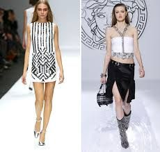 monochrome fashion trend 2013