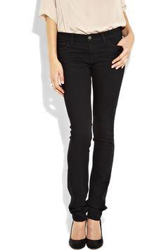 J Brand 912 low-rise pencil-leg jeans £205 #fashion #jeans