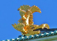 "Nagoya Castle roof ornament ""Shachihoko"""