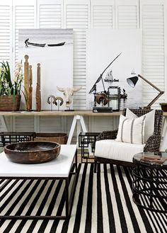 The Private House Company African Interior Design, African Design, Interior Styling, Interior Decorating, South African Homes, Luxe Decor, Style Africain, Black And White Interior, Home Comforts