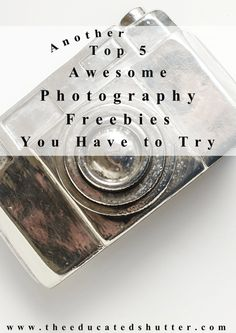 Another 5 Awesome Photography Freebies