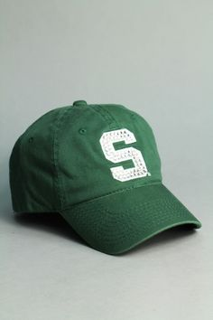 Rhinestone Michigan State hat- I own this already!!! LOVE IT!!!!! GREEN!