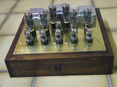 6AS7G Gegentakt Amp mit 12 Roehren