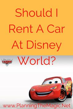 Should I Rent a Car While at Disney World? |  There are pros and cons to both having a car at Disney and not having a car.   In this post, you will find a complete overview of the  pros and cons on renting a vehicle at Disney.   Not only are there costs to consider but if you are anything like me and hate driving the answer is no!  Read the post for more! For more information visit www.planningthemagic.net