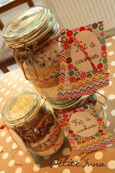 recette cookies + étiquettes imprimables