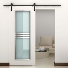 Features: -All hardware for setting up the sliding barn door presentation…