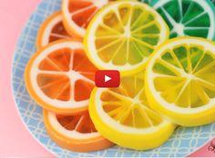 How To Create Lemon Slice Soap | http://gwyl.io/create-lemon-slice-soap/