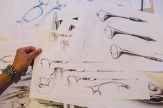 Process: Oakley - sketches