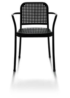 Silver   De Padova Outdoor Cafe, Outdoor Seating, Outdoor Chairs, Outdoor Furniture, Outdoor Decor, Side Chairs, Dining Chairs, Go Outdoors, Chair Design