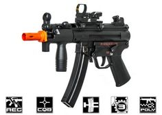 Elite Force H&K MP5K Competition Series Polymer Airsoft Gun