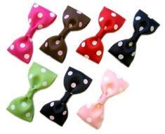 rockabilly hairbow/hair bow clip instructions