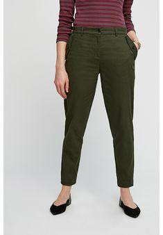 Trousers - Marietta Slim Trousers in Khaki