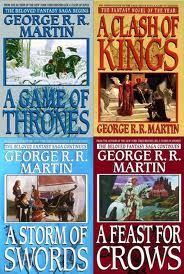 A song of ice and fire, books 1 to 4