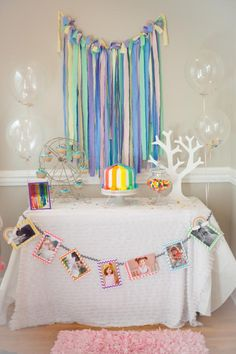 Rainbow Birthday Party via Kara's Party Ideas karaspartyideas.com #rainbow #party #ideas