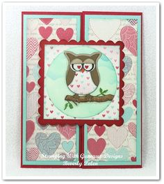 stampin up valentine's card ideas | Stampin Up Owl Punch