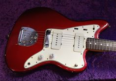 Fender Jazzmaster 1965 Candy Apple Red | Reverb