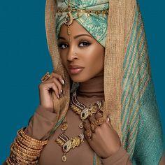 african beauty The Neelam Look African Beauty, African Women, African Fashion, Black Women Art, Beautiful Black Women, Mode Turban, African Goddess, Style Africain, Black Royalty