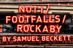 Not I, Footfalls, Rockaby at The Royal Court Theatre
