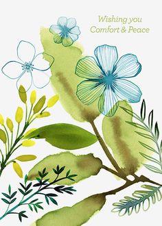 Margaret Berg Art : Illustration : get well / sympathy