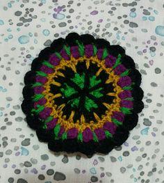 Form Crochet, Crochet Earrings, Mandala, Free, Jewelry, Beads, Jewlery, Jewels, Jewerly