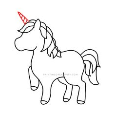 Learn how to draw a unicorn in 9 easy to follow steps. A complete tutorial for kids and adults alike. How to draw one of the most beautiful creatures. Easy Drawings, Pencil Drawings, Unicorn Drawing, Beautiful Unicorn, Pencil Eraser, Learn To Draw, Mythical Creatures, Beautiful Creatures, How To Look Pretty