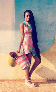 Solange <3 Only so many people can pull of knee-length braids.