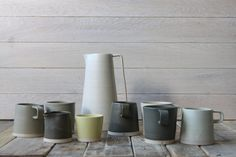Arran Street East is introducing two new products to their range of simple, hand-made ceramic pieces, and they're beautiful. Irish Design, Arran, Spotlight, Ireland, Ceramics, Mugs, Inspired, Street, Tableware