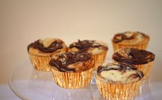 Self-frosting Nutella Cupcakes. May just break my cupcake ban to make these. May,
