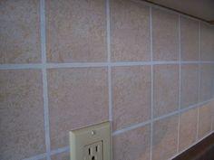 faux tile painting
