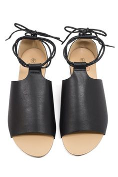 53b014413c0 Final Sale The lace-up details on the Novello Sandals make them the perfect  finishing touch for dressed up looks on warm days and lazy beach days alike.