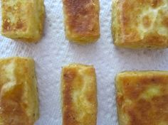 """Whole Foods """"Chicken Fried Tofu"""". AMAZING! I've tried other recipe attempts to make this, but this one is finally a winner."""