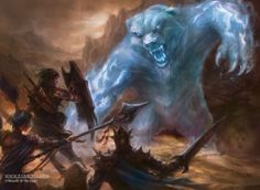 Magic the Gathering Art by Ryan Yee, via Behance  Phantasmal Bear