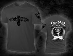 "KAMPFAR ""ravenheart"", dark grey Shirt"