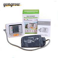 Get Yongrow Blood Pressure Monitor Tonometer Fully Automatic Digital Upper Arm Blood Pressure Monitor BP Monitor #Yongrow #Blood #Pressure #Monitor #Tonometer #Fully #Automatic #Digital #Upper
