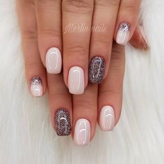 Beauty Nails - do it yourself design # nail polish # gel .- Beauty Nails – do it yourself nail design # nail polish # gel nails # nail design … – # gel nails - Fancy Nails, Love Nails, My Nails, Shellac On Short Nails, Short Nails Acrylic, Pink Shellac Nails, Dark Gel Nails, Pretty Gel Nails, Pretty Short Nails