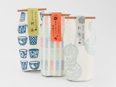 Japanese pouches.