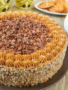 "Торт ""Мудрый еврей"" Unique Recipes, Sweet Recipes, Cake Recipes, Jewish Recipes, Russian Recipes, Russian Cakes, Mac And Cheese Homemade, Torte Cake, Easy Cake Decorating"