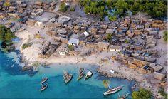 Die schönste Städte der Welt -- wunderschöne afrikanische Küstenstadt