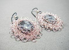 filigree wire crochet jewelry - Google Search · ΚοσμήματαΣκουλαρίκια d0d9ff29a2b