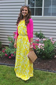 Modest pink and yellow combo. http://www.amazon.com/gp/product/0895558009/ref=as_li_ss_tl?ie=UTF8&camp=1789&creative=390957&creativeASIN=0895558009&linkCode=as2&tag=collehammo-20