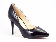 Pantofi dama negri stiletto toc 10 cm Crynna  Acesti pantofi dama tip stiletto sunt din nou la moda in acest sezon. Datorita modelului consacrat, pot fi asortati aproape la orice tinuta. Nu crezi ca ai avea si tu nevoie de acest model de pantofi?  Cumpara acum! Nimic mai simplu!