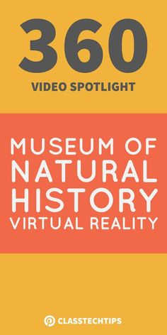 This Museum of Natural History virtual reality video is also a great option for exploring primary source documents. 360 video, history apps, virtual reality in education, virtual reality in the classroom, educational vr apps Virtual Reality Education, Virtual Reality Videos, Kids Education, Virtual Museum Tours, Virtual Tour, Virtual Field Trips, Virtual Travel, School Resources, Teaching Resources